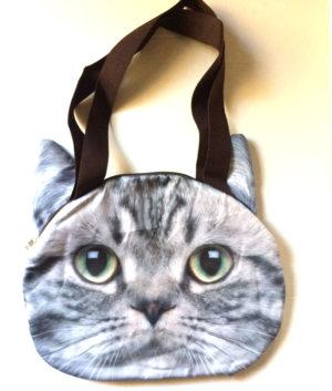 silver tabby bag