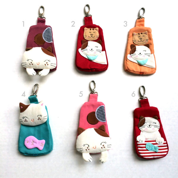 fabric-cats_keyholder